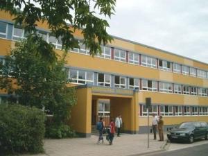 Eingang Schule Zedlitzstraße
